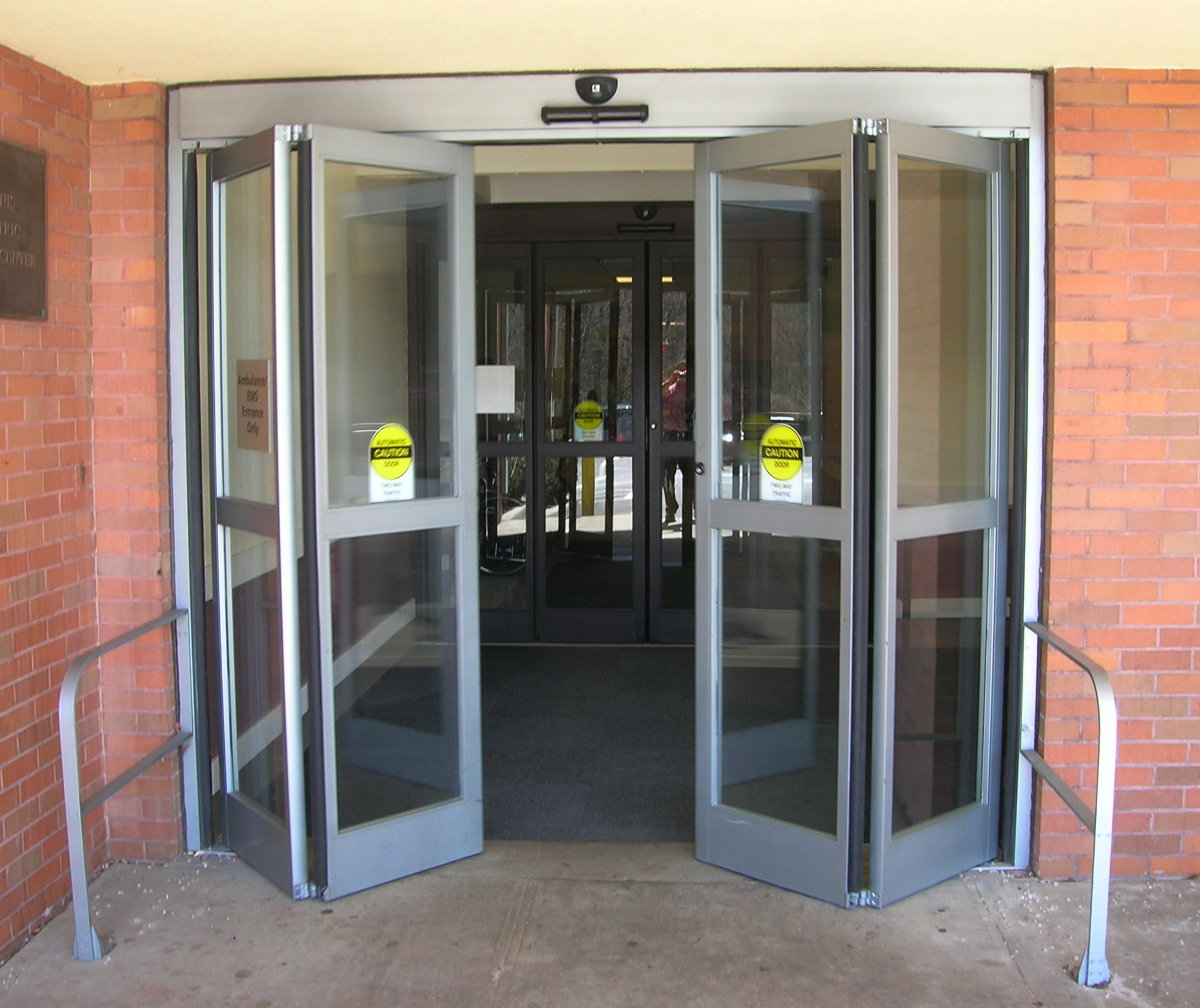 Electric Sliding Doors : Automatic doors ellipsis