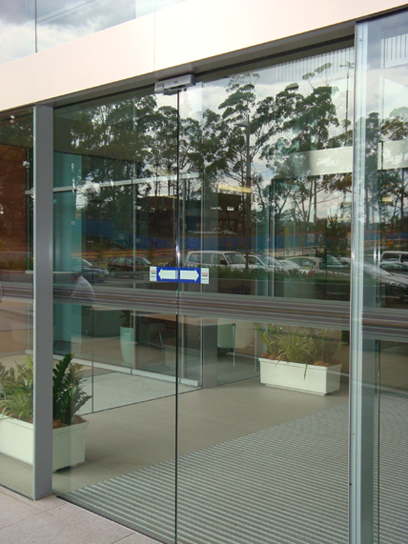 Toughened Glass Doors Ellipsis